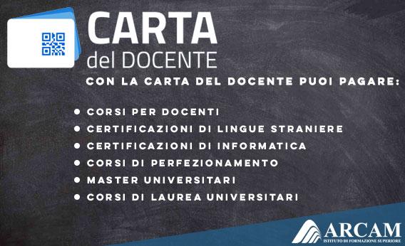 CONVENZIONI CARTA DEL DOCENTE